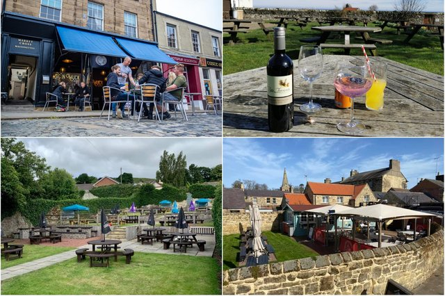 Northumberland pubs reopening.