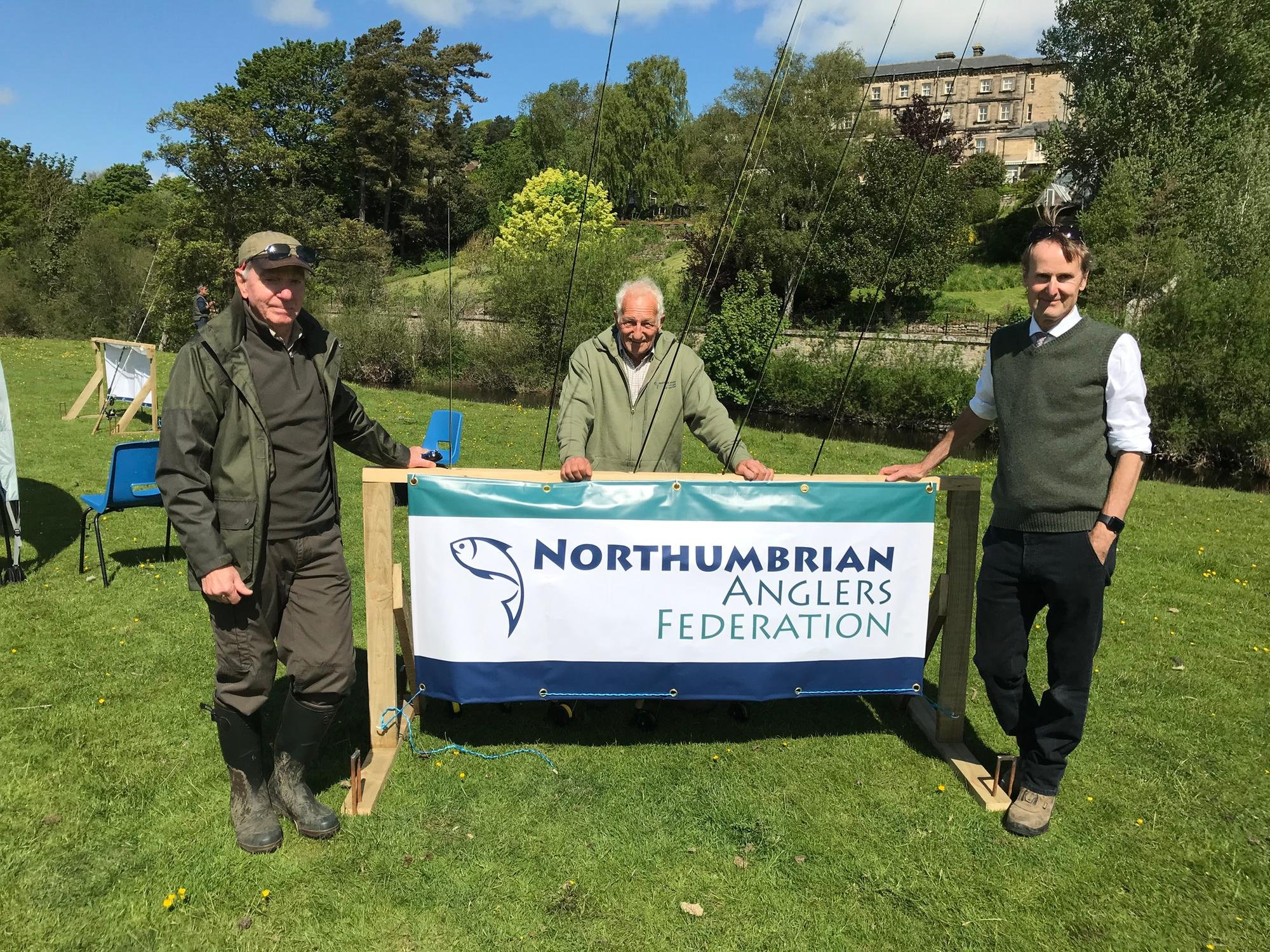 Angling event at Rothbury gets rookies hooked