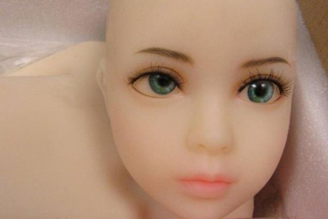 The purchase of this sex doll was intercepted by Border Force officials.