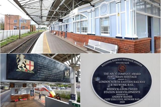 Berwick railway station.