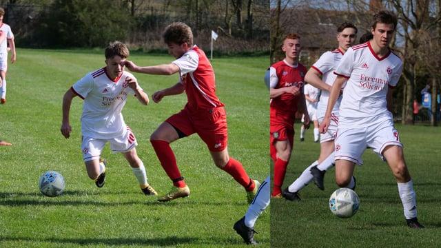Action from North Sunderland v Morpeth FC (Northern Alliance) and Belford v Ellington (North Northumberland).