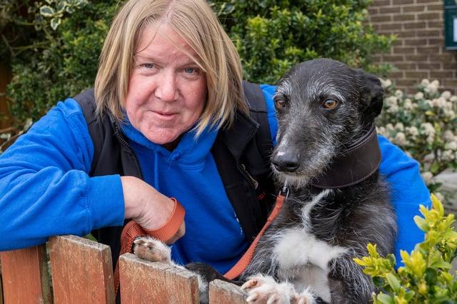 Pat Heard of Dogs First in Cramlington.
