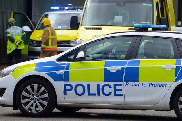 Emergency services were called to reports of a collision on the A1 near Alnwick.