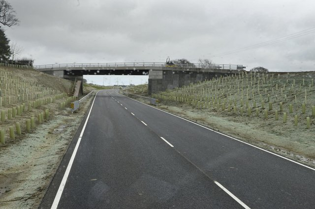 The Morpeth Northern Bypass around the time of its opening