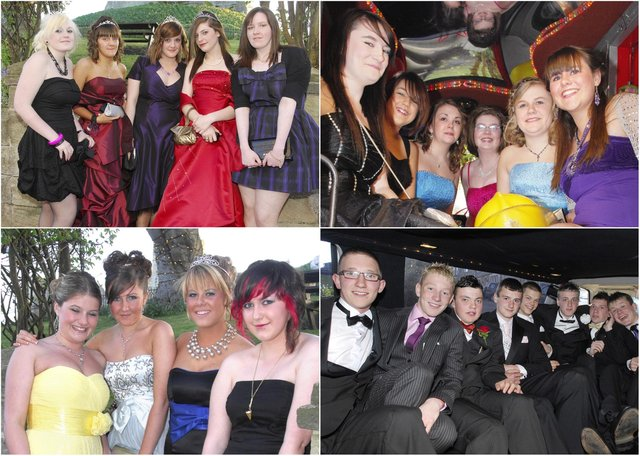 Coquet High School in Amble held its Year 11 prom at the Sun Hotel in Warkworth in 2009.