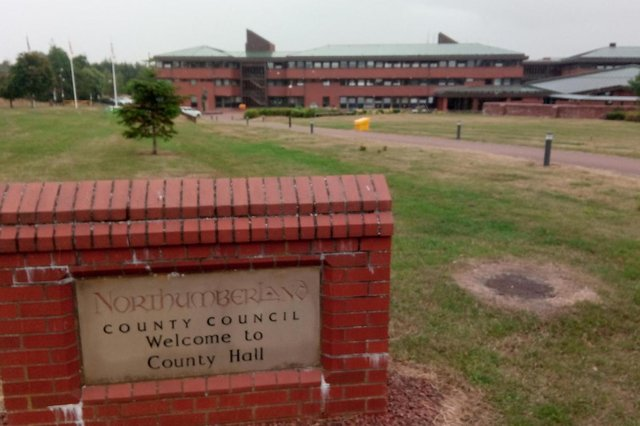 Northumberland County Council's County Hall