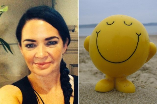 Karyn Thompson has set up a Smile for a Mile group on Facebook to help spread positivity.