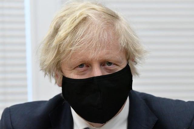 Prime Minister Boris Johnson. Picture by Frank Reid