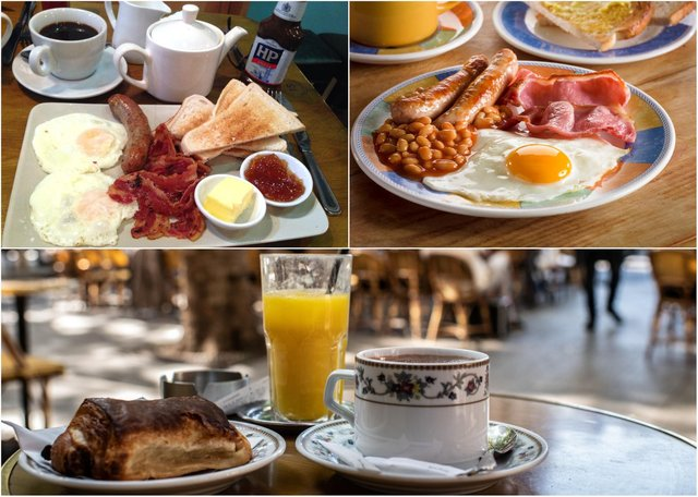 Breakfasts to savour.