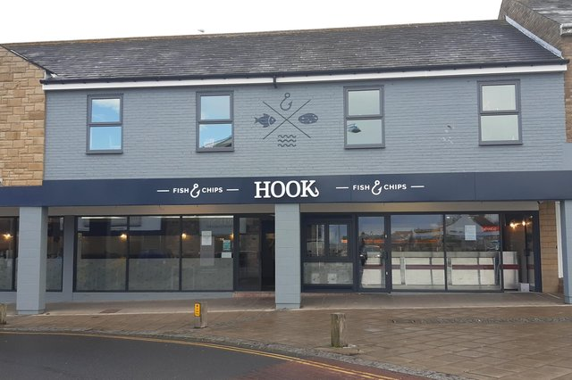 Hook in Seahouses.
