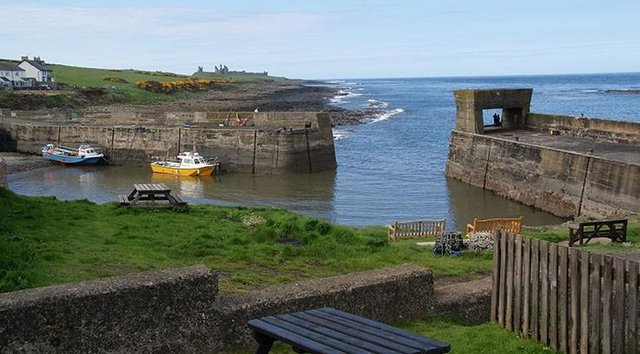 The view from The Jolly Fisherman in Craster. Picture: Bill Boaden