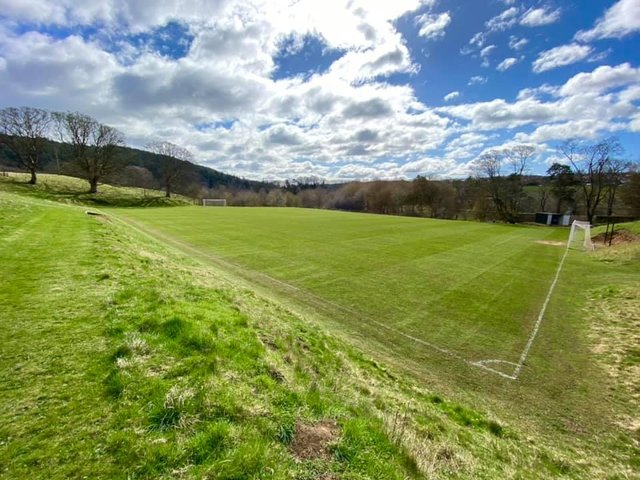 Rothbury Football Club's picturesque ground.