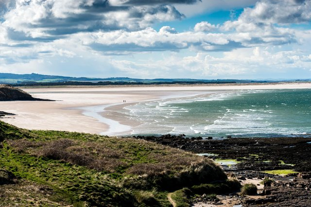 The Northumberland Coast AONB covers 135 sq kms between Berwick and the Coquet estuary. Picture by Gavin Duthie.