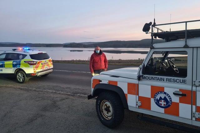 Mountain rescue teams were called to Kielder.