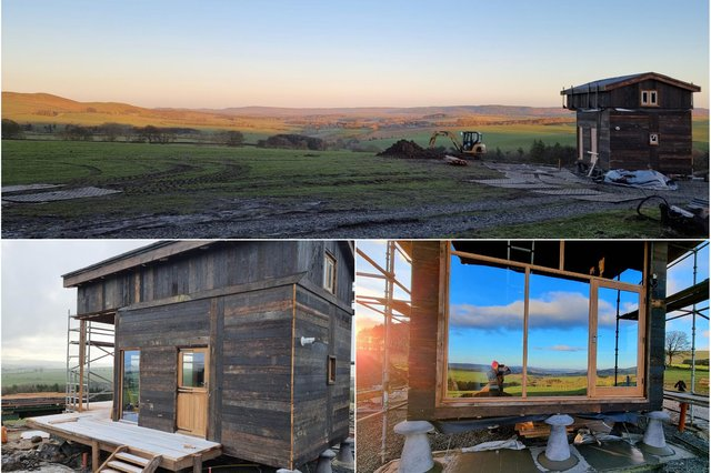 New holiday accommodation at Prendwick Farm in Northumberland.