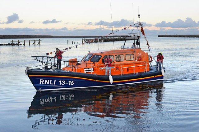 Amble's all-weather lifeboat. Picture by Jane Coltman