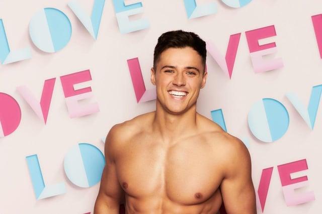 Love Island contestant Brad McClelland. Picture: ITV