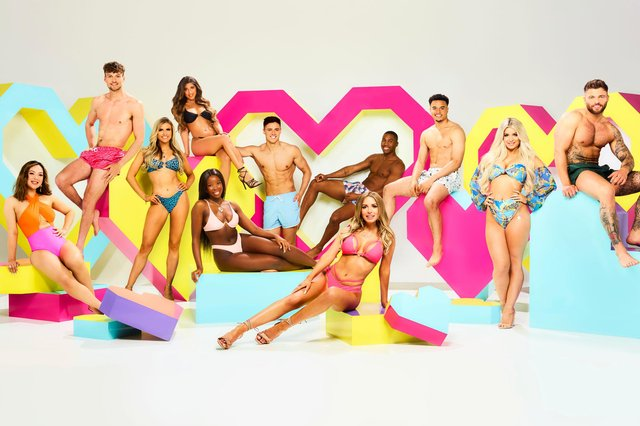 Love Island attracted 3.3million viewers on its launch.