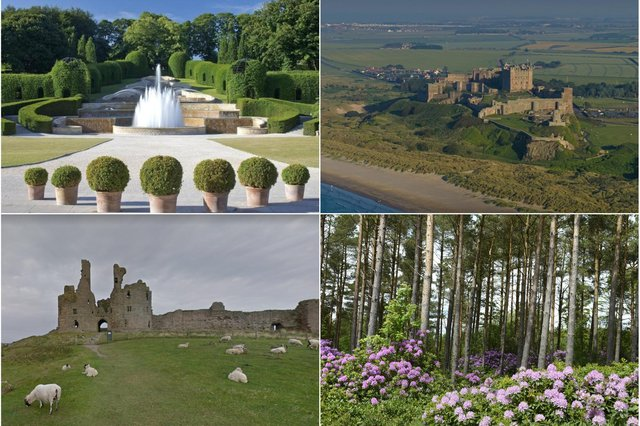 Outdoor attractions in Northumberland are reopening.
