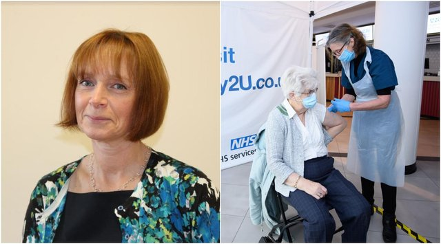 Liz Morgan, director of public health for Northumberland, has given an update of the Covid situation in Northumberland and urged people to take up their offer of a vaccine.