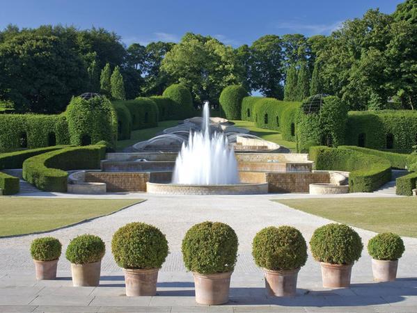 The grand cascade at The Alnwick Garden.