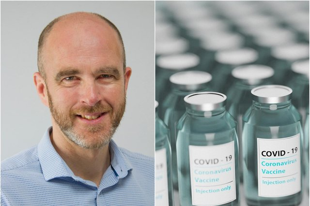 Dr Graham Syers is urging people to take the vaccine.
