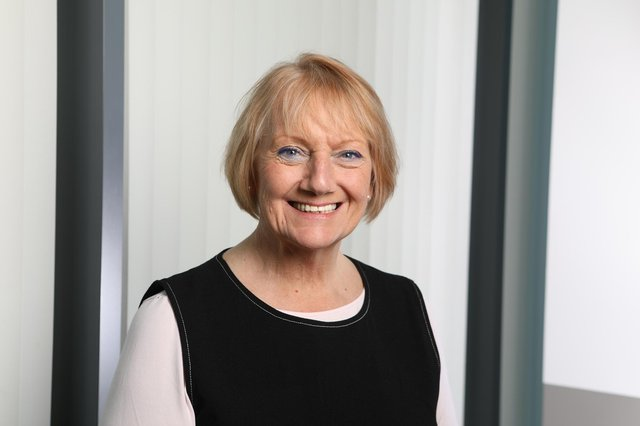 Marion Dickson, executive director for nursing.