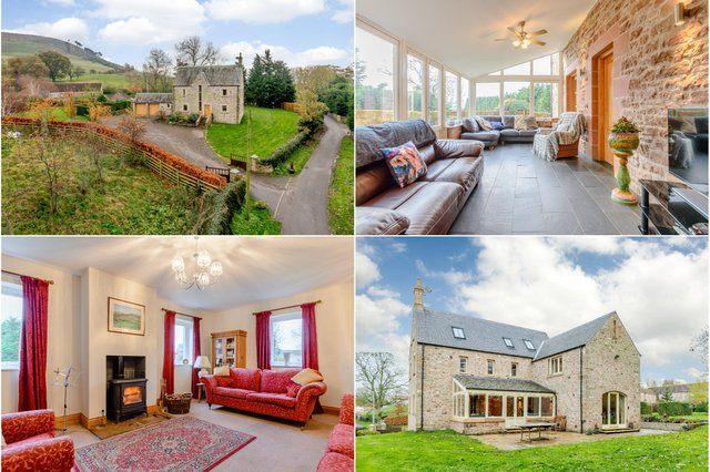 Rowan Tree House in Doddington, near Wooler, is up for sale with a guide price of £650,000.