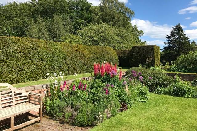 Gardens at Fallodon Hall.