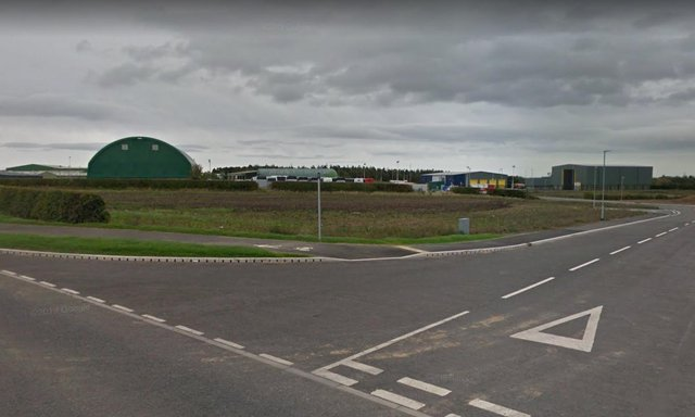 The proposed trade park site on the Lionheart Industrial Estate.