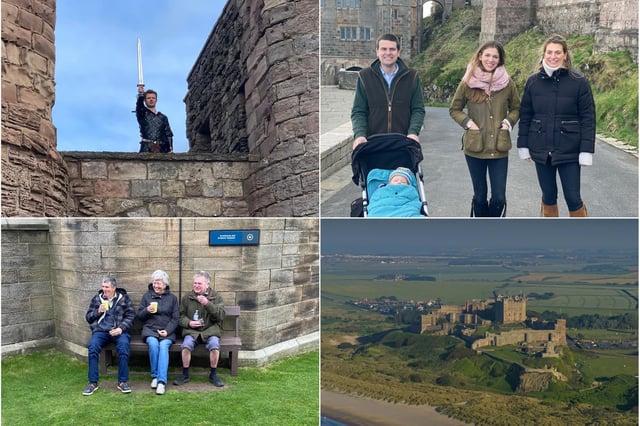 Bamburgh Castle reopening.