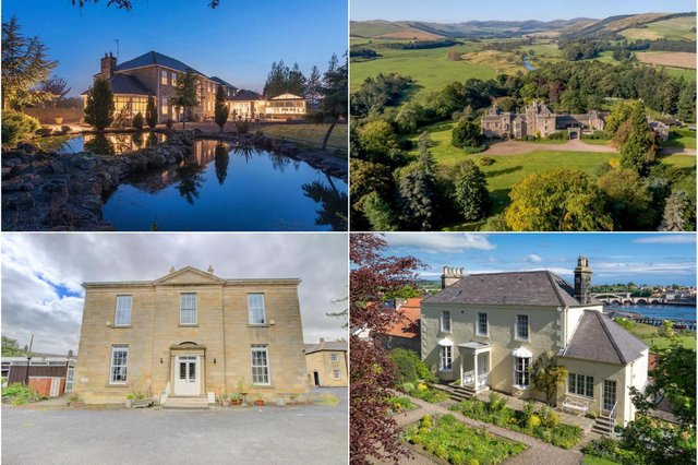 Property for sale in Northumberland.