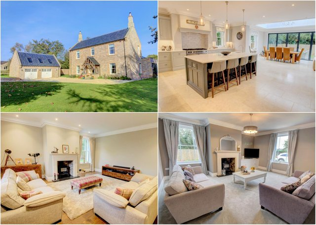 This Thropton property is on the market for offers in the region of £800,000.