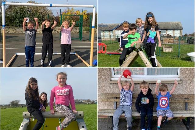 Half term fun for Seahouses Primary School children.