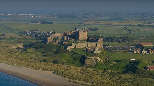 Bamburgh Castle. Picture by Charlotte Graham