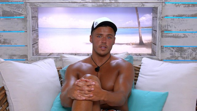 Brad McClelland on Love Island. Picture courtesy of ITV/Lifted Entertainment