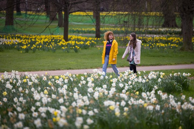 Spring has sprung - but what does the weather have in store for the Bank Holiday weekend?