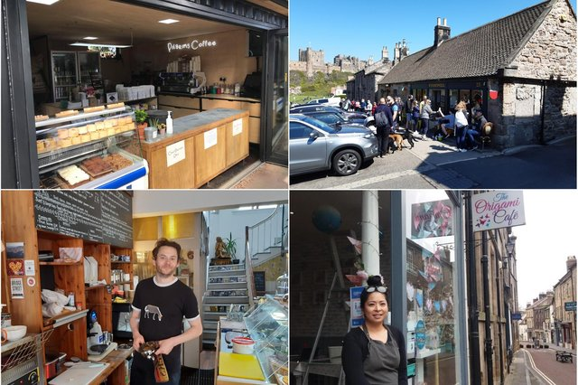 The best coffee shops in Northumberland according to TripAdvisor reviewers.