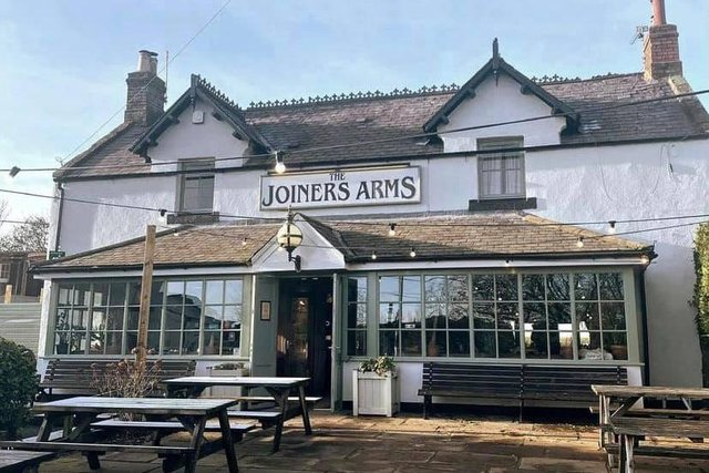 The Joiners Arms at Newton-by-the-Sea.