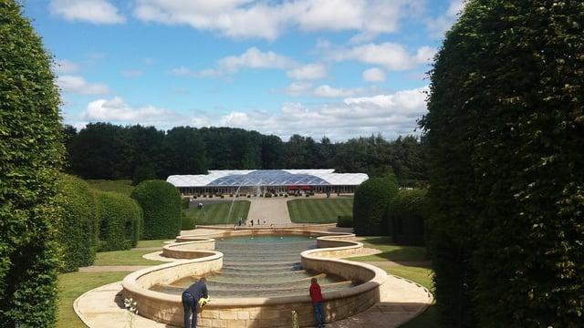 The Alnwick Garden.
