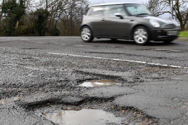 Northumberland is getting its road repair cash cut