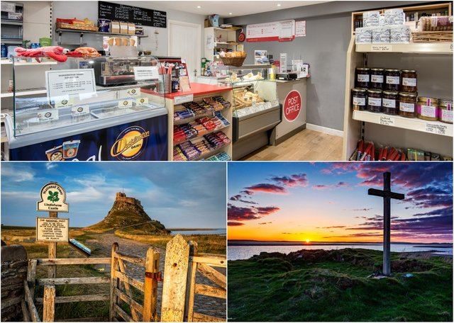 1st Class Food café and Post Office on Holy Island is up for sale.