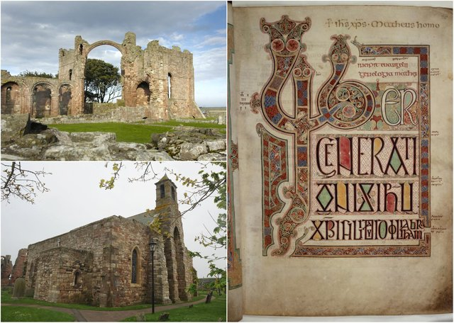 A series of events are being held to celebrate the life of Eadfrith, creator of the Lindisfarne Gospels.