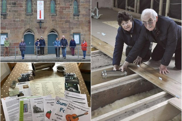 A time capsule has been buried at the Hindmarsh Hall in Alnmouth.