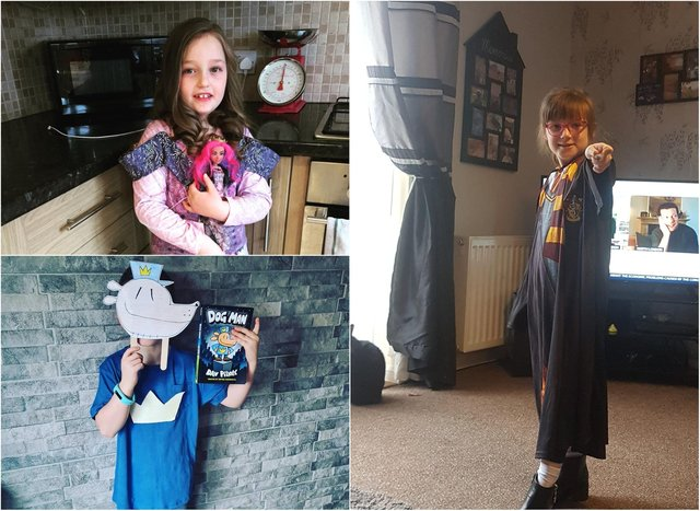 You have been sharing your children's pictures for World Book Day 2021.