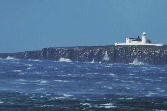 Crews were called to the Farne Islands