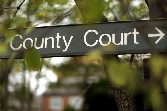 Court case backlog