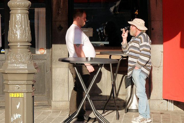 Northumberland is among the councils to ban smoking outside pavement cafes.