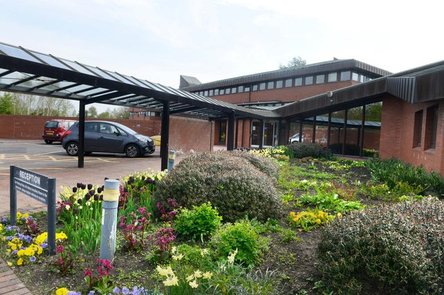 Northumberland  County Council's County Hall at Morpeth