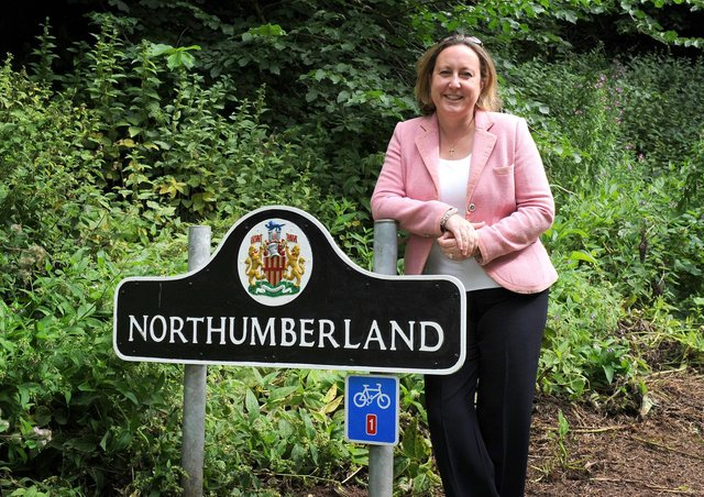 Anne-Marie Trevelyan, Conservative MP for Berwick-upon-Tweed